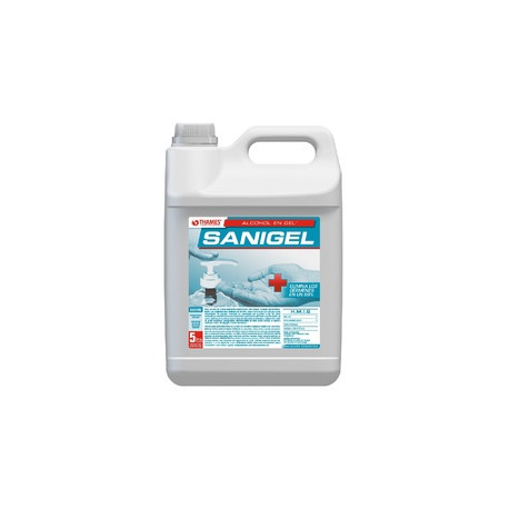 Alcohol en gel x 1lts - Sanigel (ANMAT)