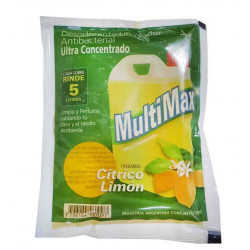 Desodorante De Piso Multimax Citrico Limon - Sobre 150Ml