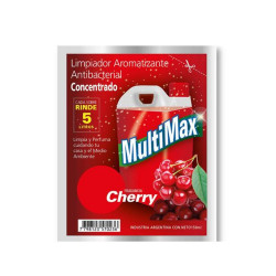 Desodorante De Piso Multimax Cherry - Sobre 150Ml